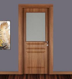 Ado Kapı Model 301 Camlı Ahşap Kapı
