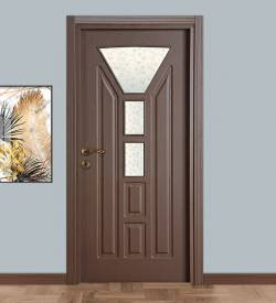 Model 102 Camlı Mdf Oda Kapısı